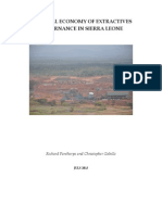 Political Economy of Extractives Governance in Sierra Leone