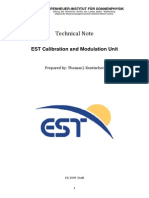 EST Calibration and Modulation Unit