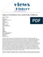 Burbank Cooper, Empires in World History Review
