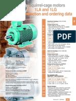Siemens Katalog Motori