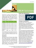 DBLM Solutions Carbon Newsletter 06 Nov(1)