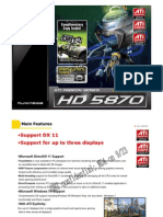 Gigabyte GV-R587D5-1GD-B graphics card