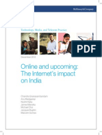 Executive Summary Online and Upcoming the Internet Impact on India