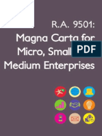 Magna Carta for Micro Small and Medium Enterprises