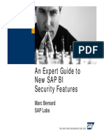 An Expert Guide to New SAP BI Security Features