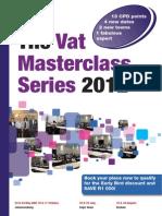 Vat Seminar Brochure 2011 2012