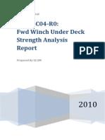 P0866C04 - Fwd Winch Under Deck Analysis