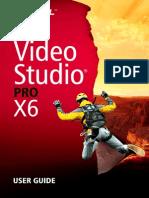 Corel's Video Studio X6 User Guide
