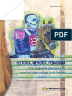 Sebastián Vargas, Margoth Acosta & Ramiro Sánchez - Historia, Memoria, Pedagogía