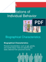 2 -Foundation of Individual Behavior organisational behaviour