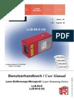 Manual LLB60