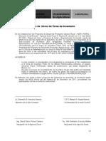 Actas de Inicio y Cierre Inventario 2011