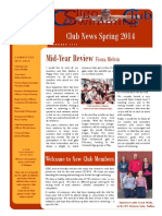 CSSC Newsletter Jan 2014