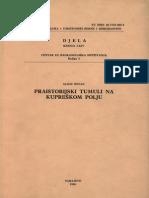Alojz Benac - Praistorijski tumuli na Kupreškom polju