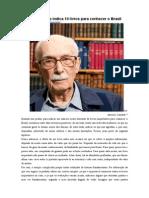 Antonio Cândido - indicações Brasil