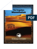 The Forgotten Monotheism