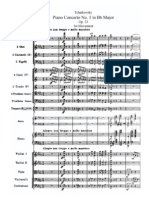 Tchaikovsky Piano Concerto No 1 in Bb Major Op 23 Mov 1