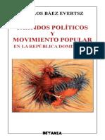 Carlos J Baez Evertsz Partidos Politicos y Movimiento Popular en RD