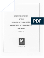 Police Foundation - Operations Review of the Atlantic City, New Jersey Department of Public Safety