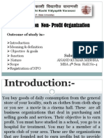 presentation on Non-profit organisation