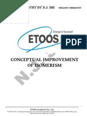 Conceptual Improvement of Isomerism Final DPP-372 | Conformational