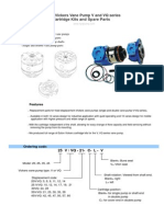 New Replacement Vickers Cartridge KIT 35V38 35V38 Rear VITON Seals