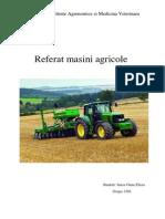 Referat Masini Agricole