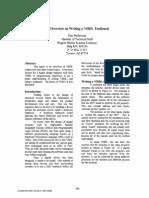 VHDL testbench