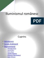 Prezentare ppt iluminismul romanesc