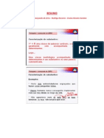 Resumo - Curso de Português - Começando do Zero - Rodrigo Bezerra - Aula 02.1 a Aula 02.4