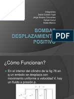 Bombas Desplazamiento Positivo