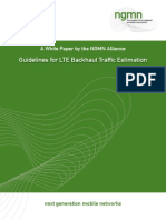 Guideline for LTE Backhaul Traffic Estimation