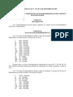 Banda-Servico-Radioamador Anexo Res 452 2006