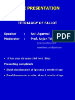 Tetralogy of Fallot Case Discussion