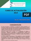 Curso de Actualizacion 2014 Ciencia y Ambiente