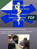 Intubación Orotraqueal