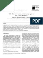 Articulo de La Produccion de Acido Acrilico
