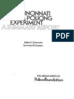 Schwartz, A. I., Et. Al. - The Cincinnati Team Policing Experiment