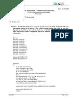 NetworkProgrammng LabAssignment