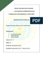 2013-09-22 Tributacion Principios basicos.