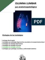 Practica Clinica 1 Columna Lumbar