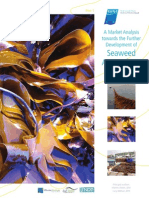 A Market Analysis Towards the Further Development of Seaweed Aquaculture in Ireland