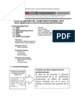 PLAN d MEJORA-ClimaInstitucional
