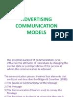 Advertising Communication Models