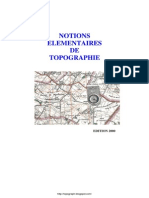 Notions Elementaires de Topographie