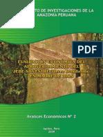 Evaluacion Economica Del Jebe Natural en MDD