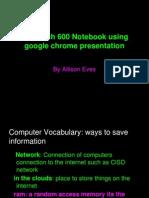 allison evess tech notebook