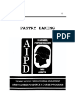 (eBook - English) Us Army - Cooking Course Qm 0456 - Pastry