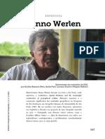Entrevista Benno Werlen