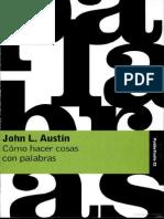 Austin John L. - Como Hacer Cosas Con Las Palabras